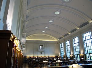 East Reading Room at Thompson Library, The Ohio State University