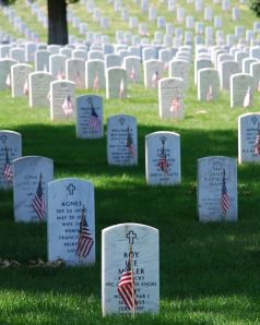Arlington National Cemetery. Photo is in the public domain.
