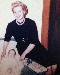 Mom after Carol was born