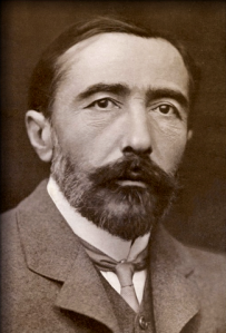 Joseph Conrad (from the National Portrait Gallery, a public domain photograph by George Charles Beresford)