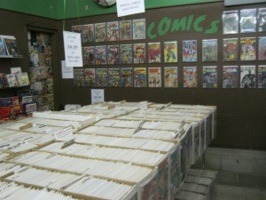 Comic Section at Dark Star Books