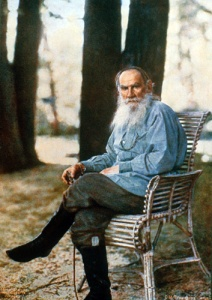 """L.N.Tolstoy Prokudin-Gorsky"" by Sergey Prokudin-Gorsky - Журнал ""Записки Русского технического общества"", №8, 1908. Стр. 369. URL: http://prokudin-gorsky.org/arcs.php?lang=ru&photos_id=818&type=1. Licensed under Public Domain via Wikimedia Commons - http://commons.wikimedia.org/wiki/File:L.N.Tolstoy_Prokudin-Gorsky.jpg#mediaviewer/File:L.N.Tolstoy_Prokudin-Gorsky.jpg"