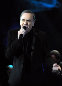 """""""Neil Diamond- in 2010"""" by Alan Topping - http://www.flickr.com/photos/22972879@N08/5132051426/in/set-72157625279956478/. Licensed under CC BY-SA 2.0 via Wikimedia Commons."""