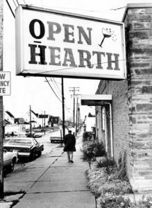 The Open Hearth Bar on Steel Street, Photo by Tony Tomsic, Special Collections, Cleveland State University Library