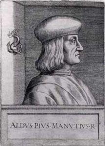 """""""Aldus Manutius"""". Licensed under Public Domain via Wikimedia Commons."""