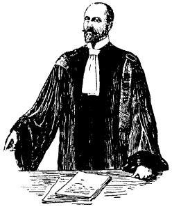 """Advokat, Fransk advokatdräkt, Nordisk familjebok"". Licensed under Public Domain via Wikimedia Commons."