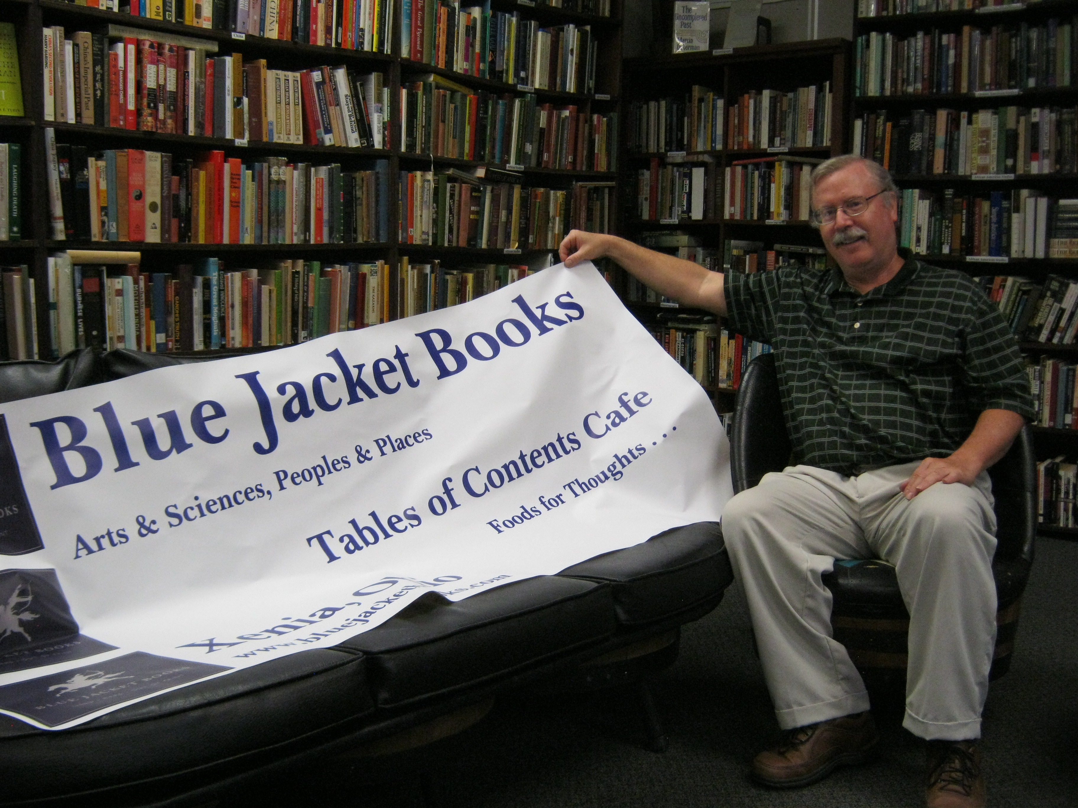 Bookstore Review: Blue Jacket Books | Bob on Books