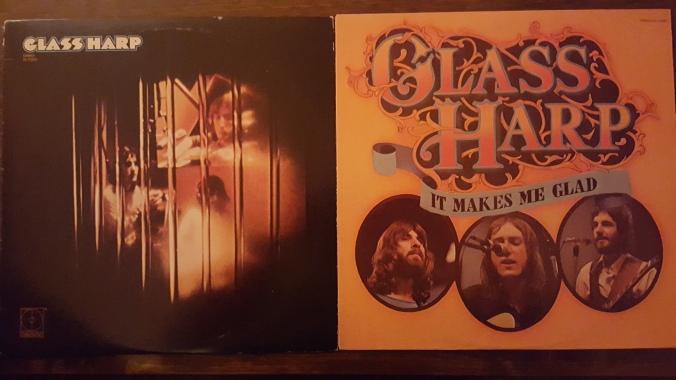 Vintage Glass Harp LPs