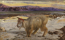 """The Scapegoat"" by William Holman Hunt"