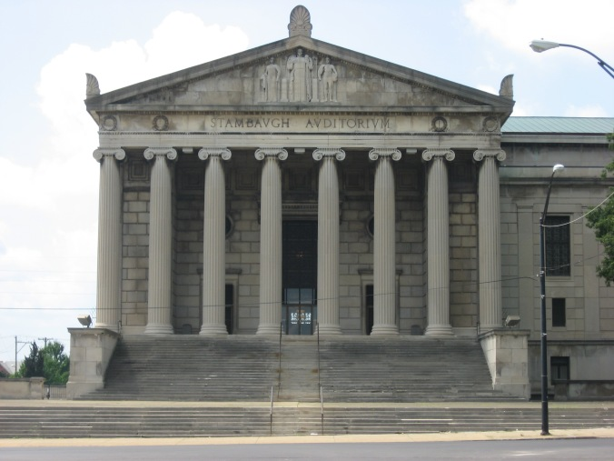 Stambaugh_Auditorium_front