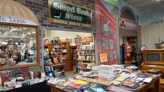Gospel Book Store Entrance