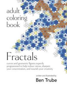 adult coloring book fractals