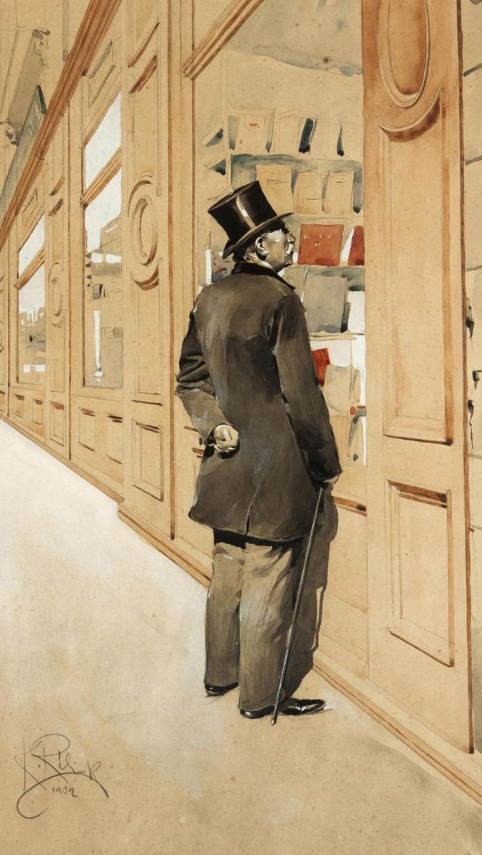 Karel_Rélink_Der_Bibliophile_1902