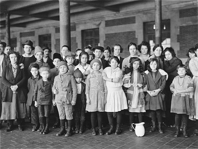 Ellis Island Immigrants, Public Domain