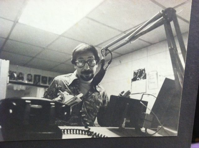 Boots Bell in studio