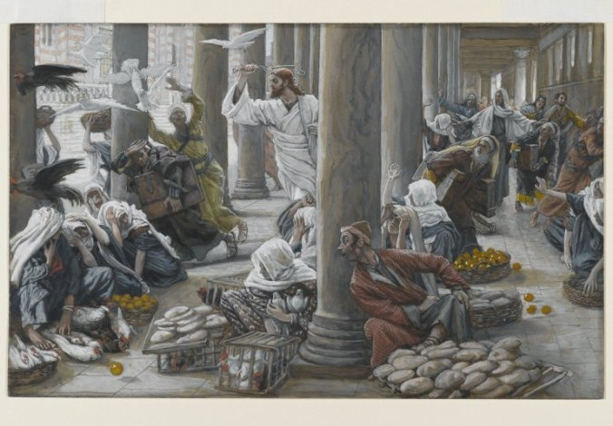 Brooklyn_Museum_-_The_Merchants_Chased_from_the_Temple_(Les_vendeurs_chassés_du_Temple)_-_James_Tissot
