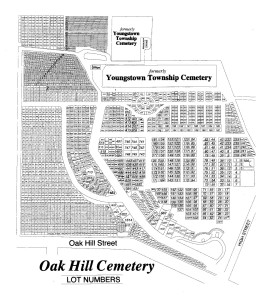 Oak Hill Cemetery Lot Numbers