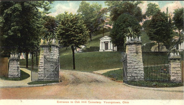 Oak Hill Cemetery postcard