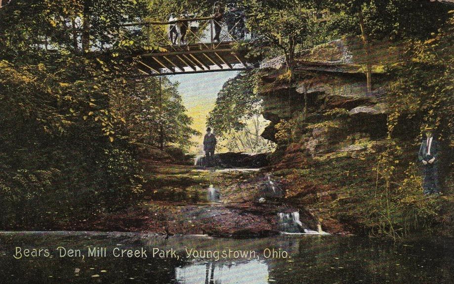 1908 Postcard of Bears Den