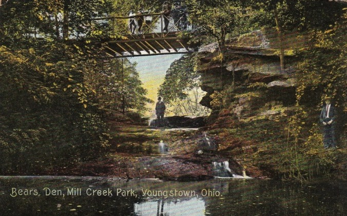 1908 Postcard of Bears Den