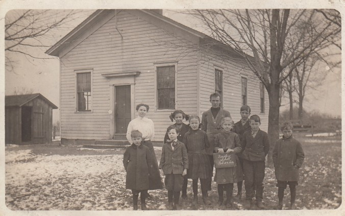 Alpharetta Simon at Heasly School 1912