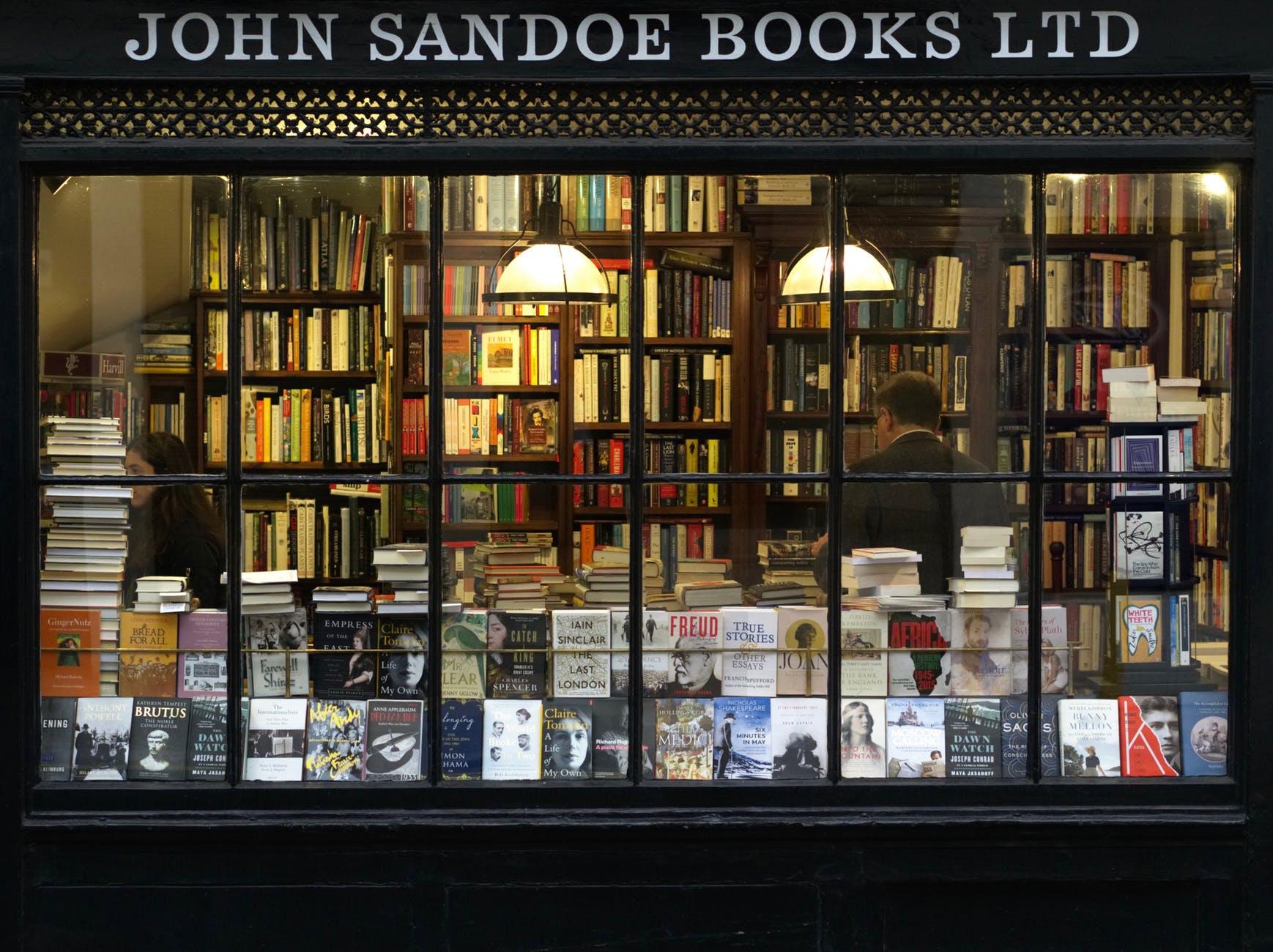 books bookshop bookstore business