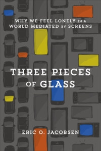 Three pieces of glass